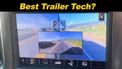 GMC Sierra / Chevy Silverado Trailering Tech | Cameras Galore