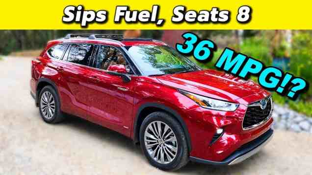 High Efficiency Family Hauling – The 2020 Toyota Highlander Hybrid Is All About Economy