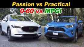 Mazda CX-5 Turbo vs Toyota RAV4 Hybrid | Top Picks Face Off