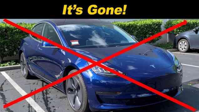 We Sold The Tesla!