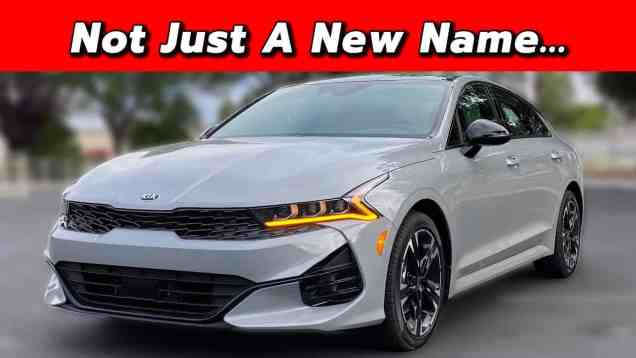 Kia's Middle-Child Mid-Size Sedan | 2021 Kia K5
