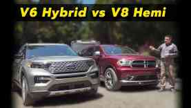 Hybrid vs V8 Towing Test | Which Is More Efficient?