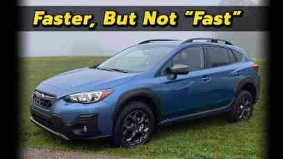 Now With Moarrr Powarr!   2021 Subaru Crosstrek