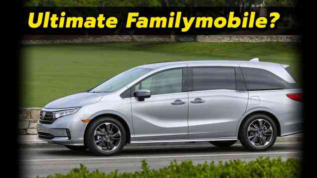 People Moving Perfection? | 2021 Honda Odyssey