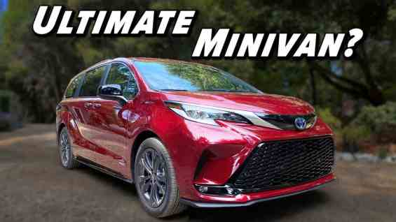 The Fuel Sipping Family Hauler | 2021 Sienna Review Part 1