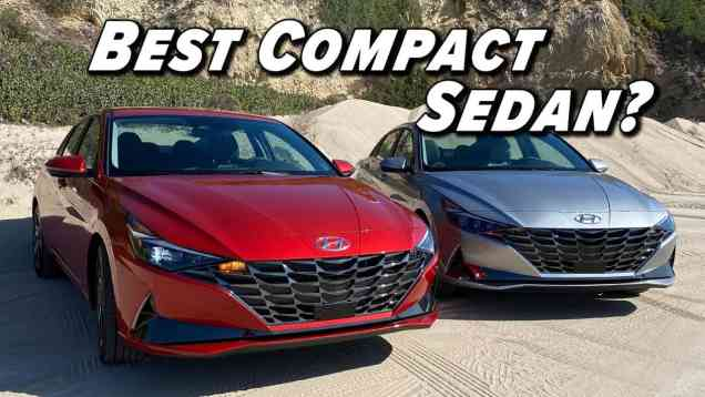 2021 Elantra and Elantra Hybrid First Drive | Compact Sedan Nirvana?
