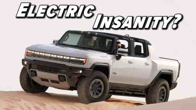 Everything We Know About The New Hummer EV Truck