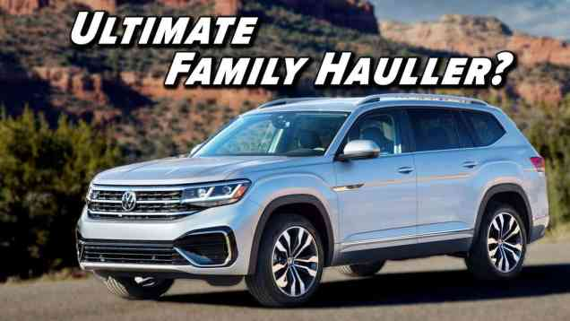 Still The Family Option | 2021 Volkswagen Atlas