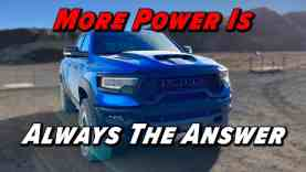 The Craziest Truck You Can Buy Today: 2021 RAM TRX
