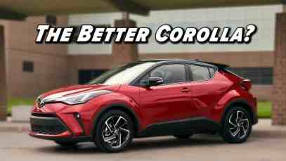It's Not A Crossover, But Still Worth A Look   2021 Toyota C-HR