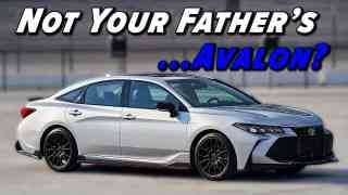 Say What? A Sporty Avalon? 2021 Toyota Avalon TRD