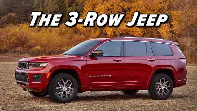 The Three Row Jeep You've Been Waiting For: 2021 Jeep Grand Cherokee L