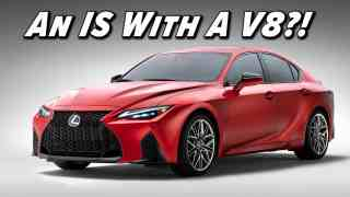 2022 Lexus IS 500 F Sport Performance First Look