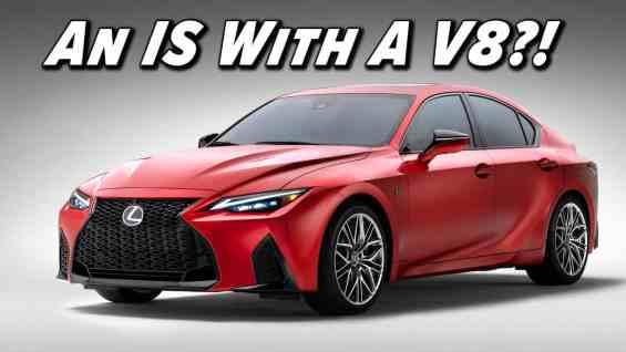 2022 Lexus IS 500 F Sport Performance First Look