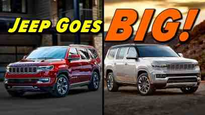 2022 Jeep Wagoneer and Grand Wagoneer First look