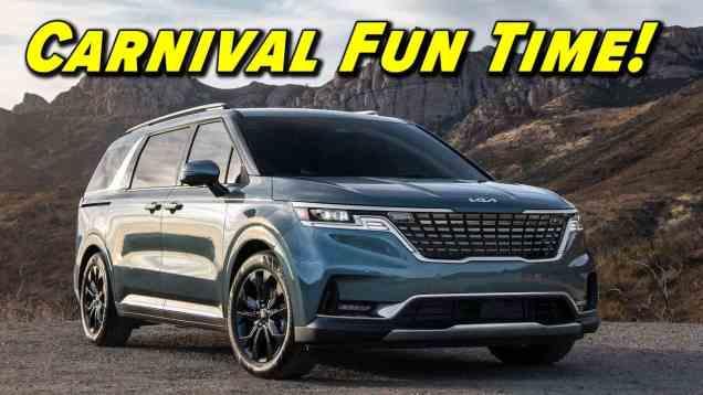 Kia's Un-Minivan | 2022 Kia Carnival First Drive