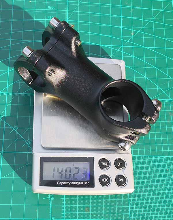 Выбор выноса руля Zoom по длине и весу - длина 60 мм, вес 140 граммов