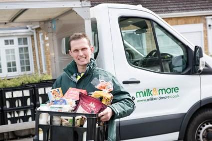 milk&more Milkman of the Year 2017 regional finalist Darren Barn