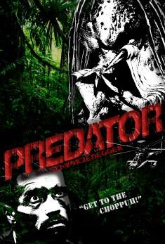 Predator Poster Re-Creation