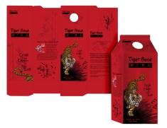 Tiger Bone Wine Dissent Package Design