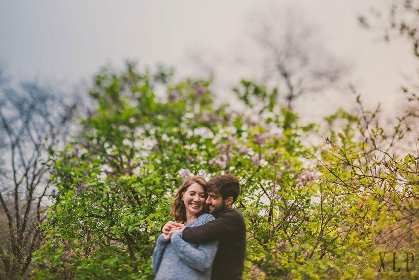 Arnold Arboretum Lilac Engagement Photos (18)