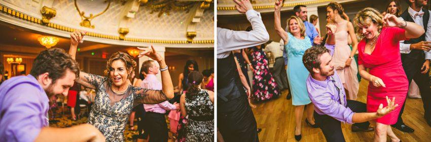 exciting boston wedding dancing