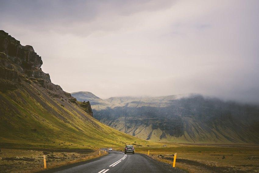 driving along Ring Road