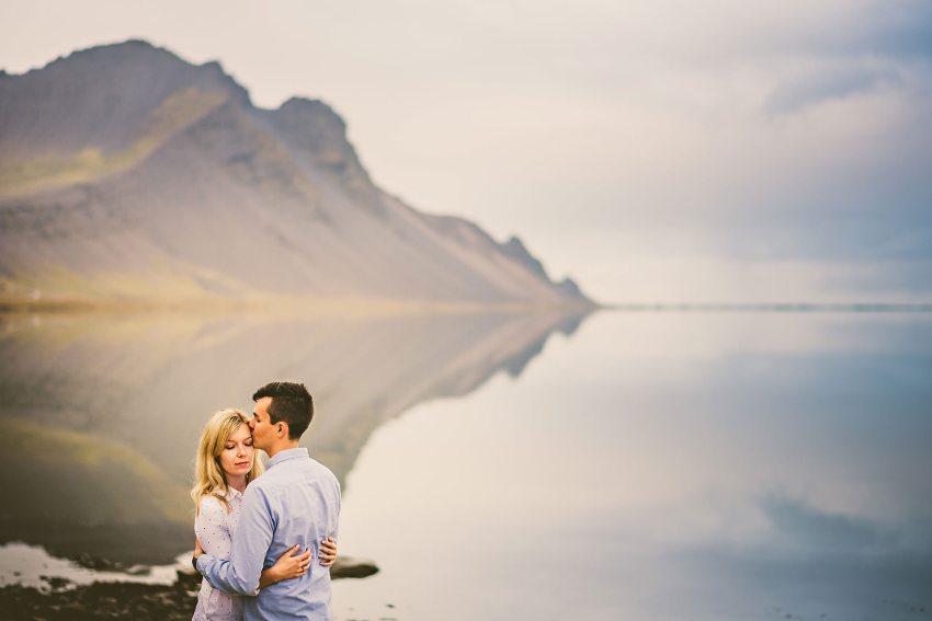 beautiful portrait in Iceland near Höfn