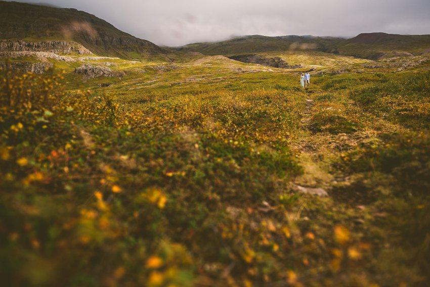 Iceland changing landscapes