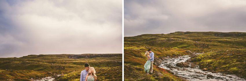 Icelandic engagement session
