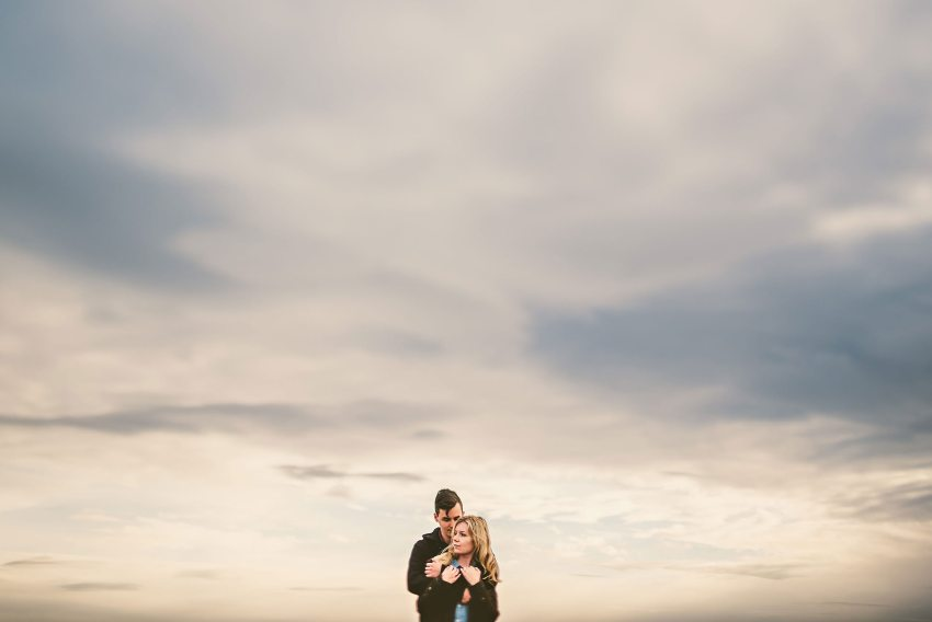 beautiful engagement portraits in Iceland