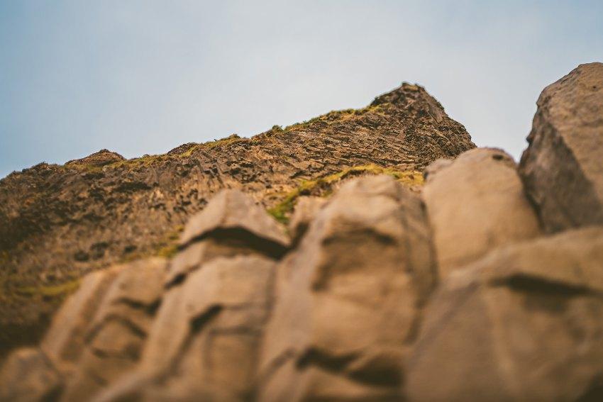 reynisfjara basalt stacks