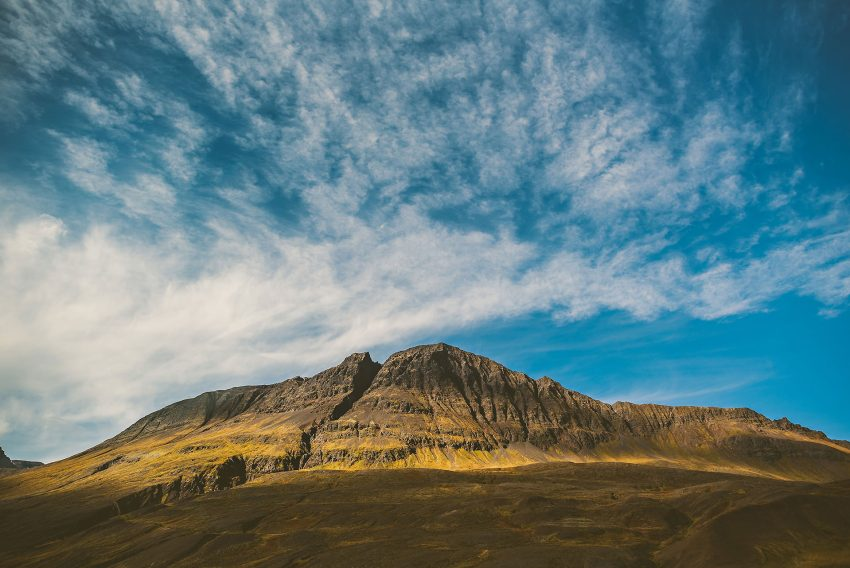 beautiful landscapes in Iceland