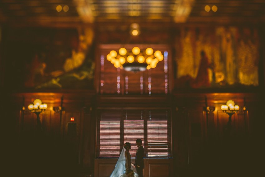 artistic wedding portraits at BPL