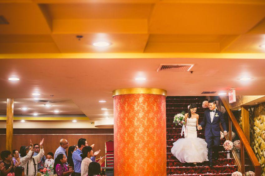 Hei La Moon wedding reception entrance