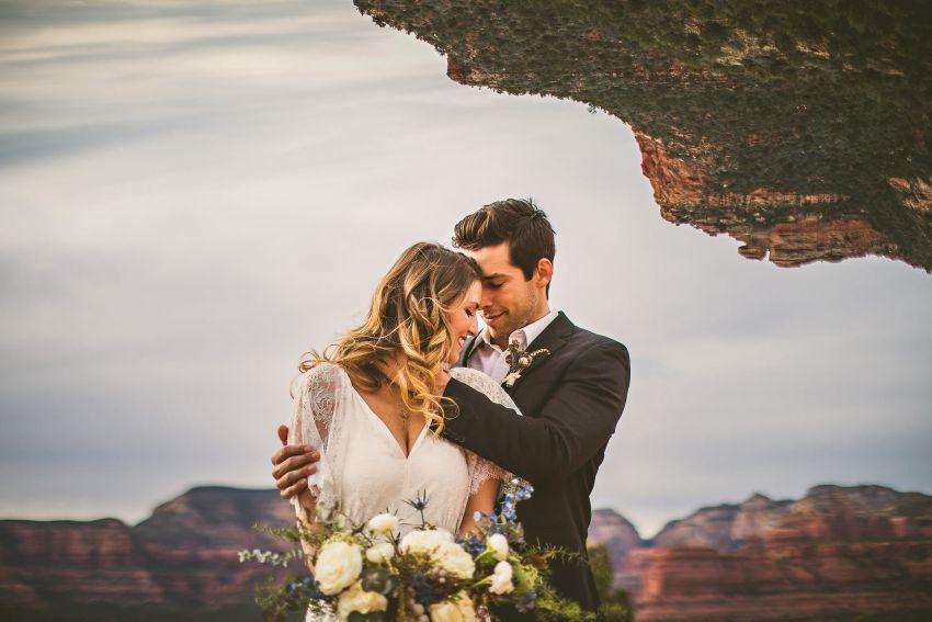 Arizona red rocks wedding photography