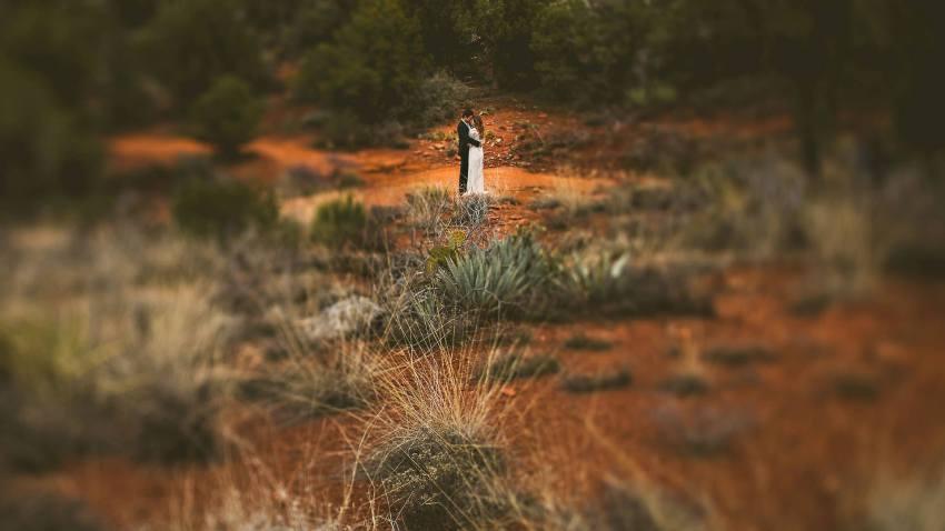 Sedona destination wedding photos
