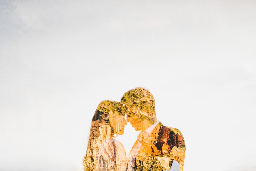 Creative Sedona wedding photography