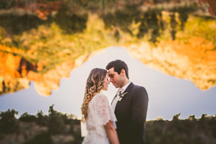 Intimate Arizona elopement photos