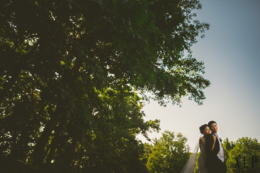 Sunset Lexington wedding portraits