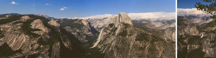 Glacier Point view in Yosemite