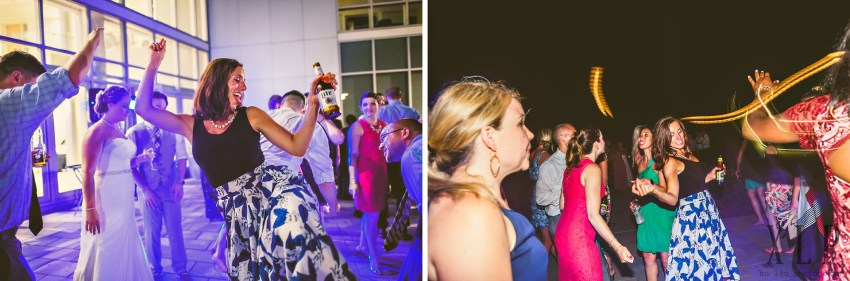 RWU outdoor wedding reception