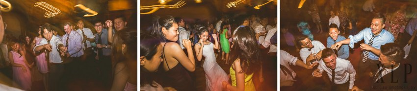 Empire Garden wedding dancing