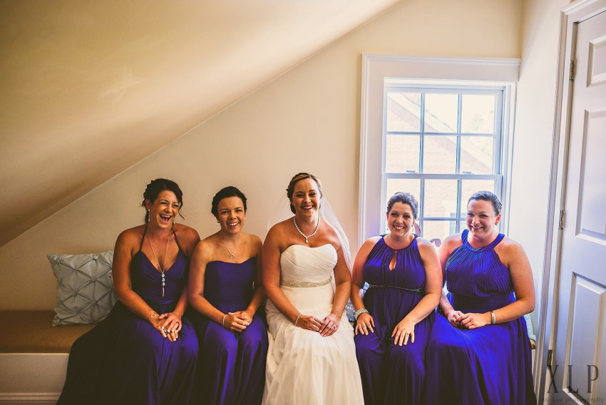 RWU wedding bridal party