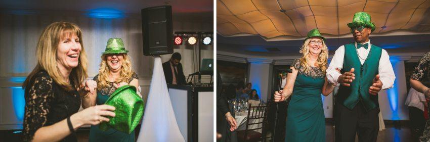 State Room wedding reception
