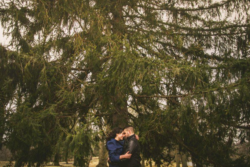 Engagement photos in Rhode Island