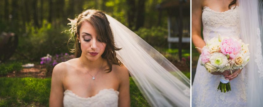 Bridal portraits in New Hampshire