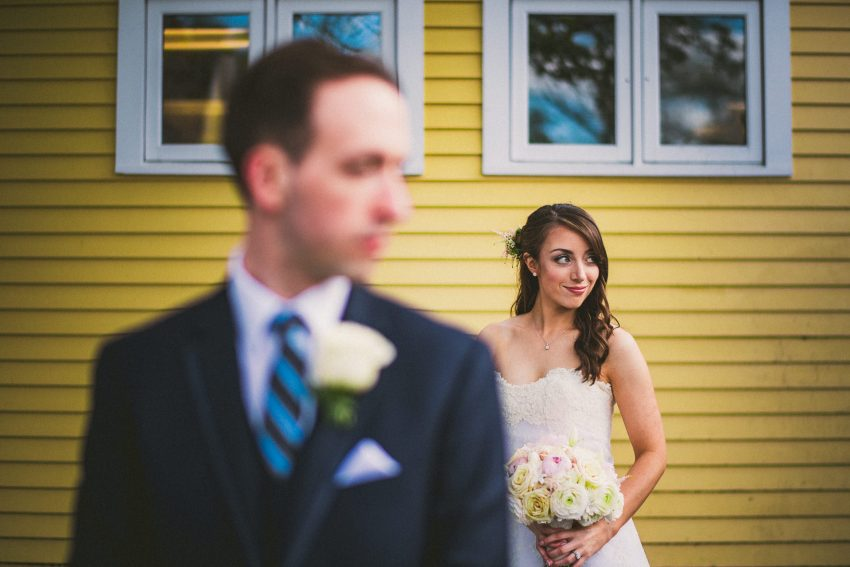 Creative New England wedding portraiture