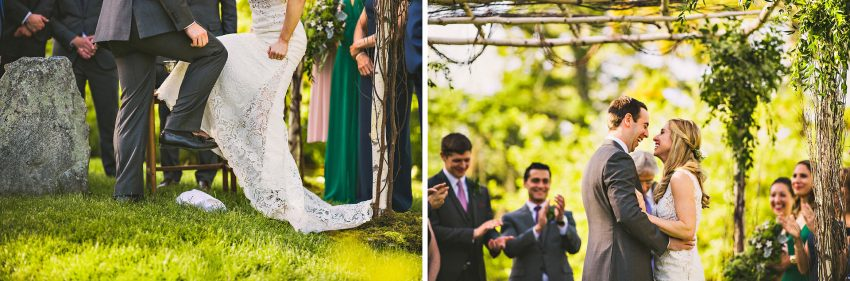 Hudson Valley Jewish wedding ceremony
