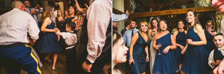 Bedford wedding reception